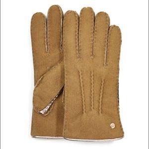 NWT UGG Sheepskin Leather Gloves